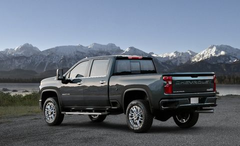 Pricing For 2020 Chevrolet Silverado Hd Pickups Details Of