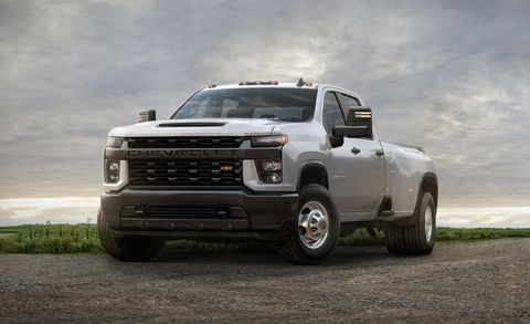 Pricing for 2020 Chevrolet Silverado HD Pickups - Details of 2500 and 3500 Prices
