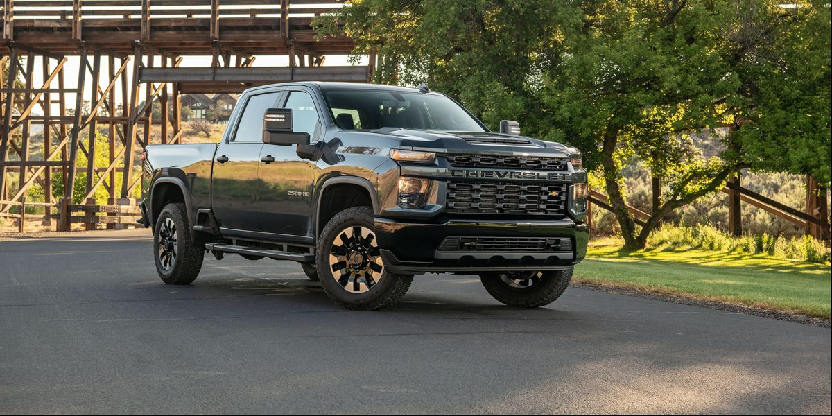 2020 Chevrolet Silverado HD Review, Pricing, and Specs