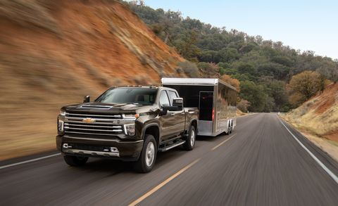 Silverado 2500 Towing Capacity >> Towing With The 2020 Chevrolet Silverado 2500 And 3500 Tested