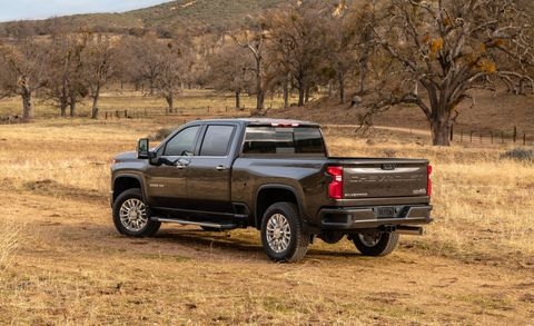 Towing with the 2020 Chevrolet Silverado 2500 and 3500 ...