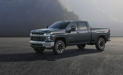 2020 Chevrolet Silverado HD - Heavy Duty Trucks Get a New Look