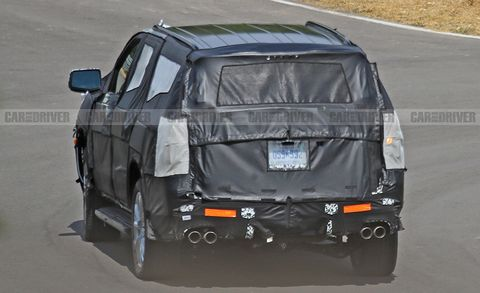 2020 Chevrolet Tahoe Spy Photos Next Gen Full Size Suv