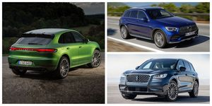 compact luxury crossovers and SUVs