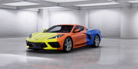 2020 Corvette Color Chart.See The 2020 Chevy Corvette In Every Color Available