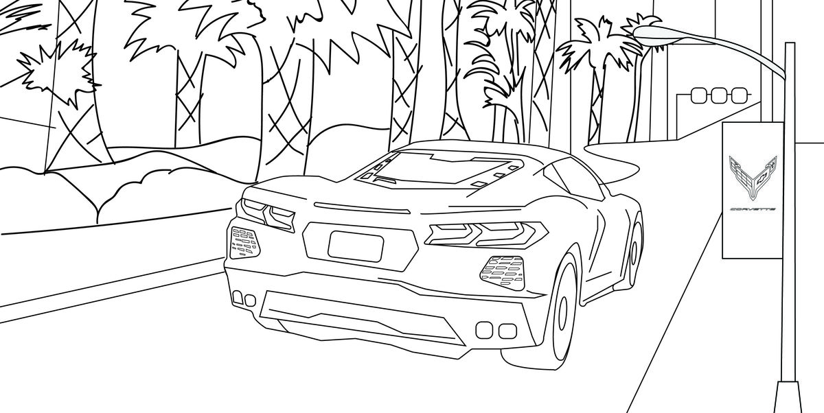 Have crayons; will color. Keep you and your family entertained with these automaker activity pages.
