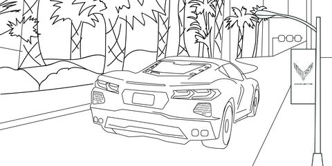 coloring book ~ Mega Cars Coloring Yescoloring Free Trucks ... | 241x480
