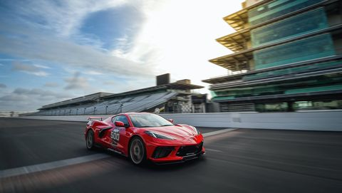 covette stingray c8 pace car indy 500 2020