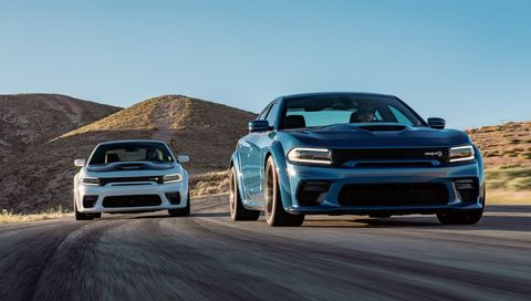The 2020 Dodge Charger Hellcat Widebody Looks Meaner
