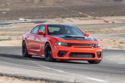 The Dodge Charger Hellcat Widebody Has No Sympathy for Its Tires