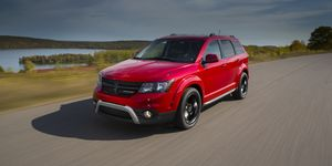 2020 Dodge Journey driving