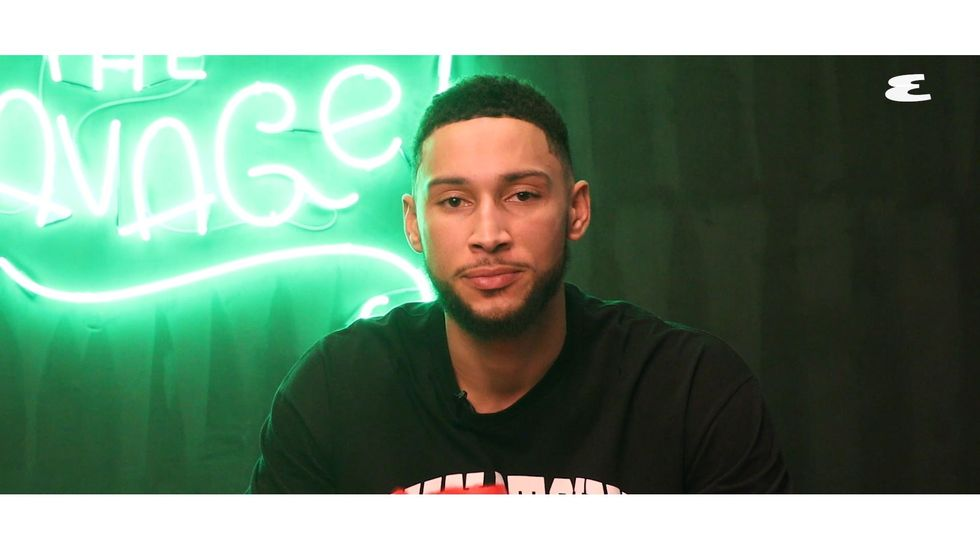 Ben Simmons Shows Us His Jersey Collection along with His'Call of Duty' Command Center thumbnail