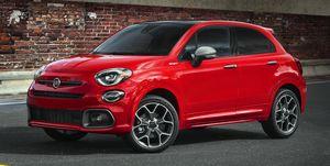 2020 Fiat 500X front