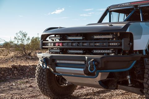 2020 Ford Bronco Off Road Sema edition