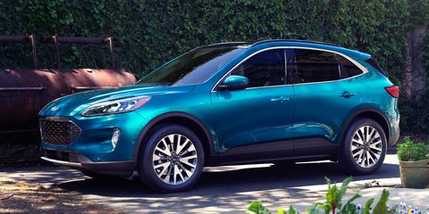 View Photos of the 2020 Ford Escape