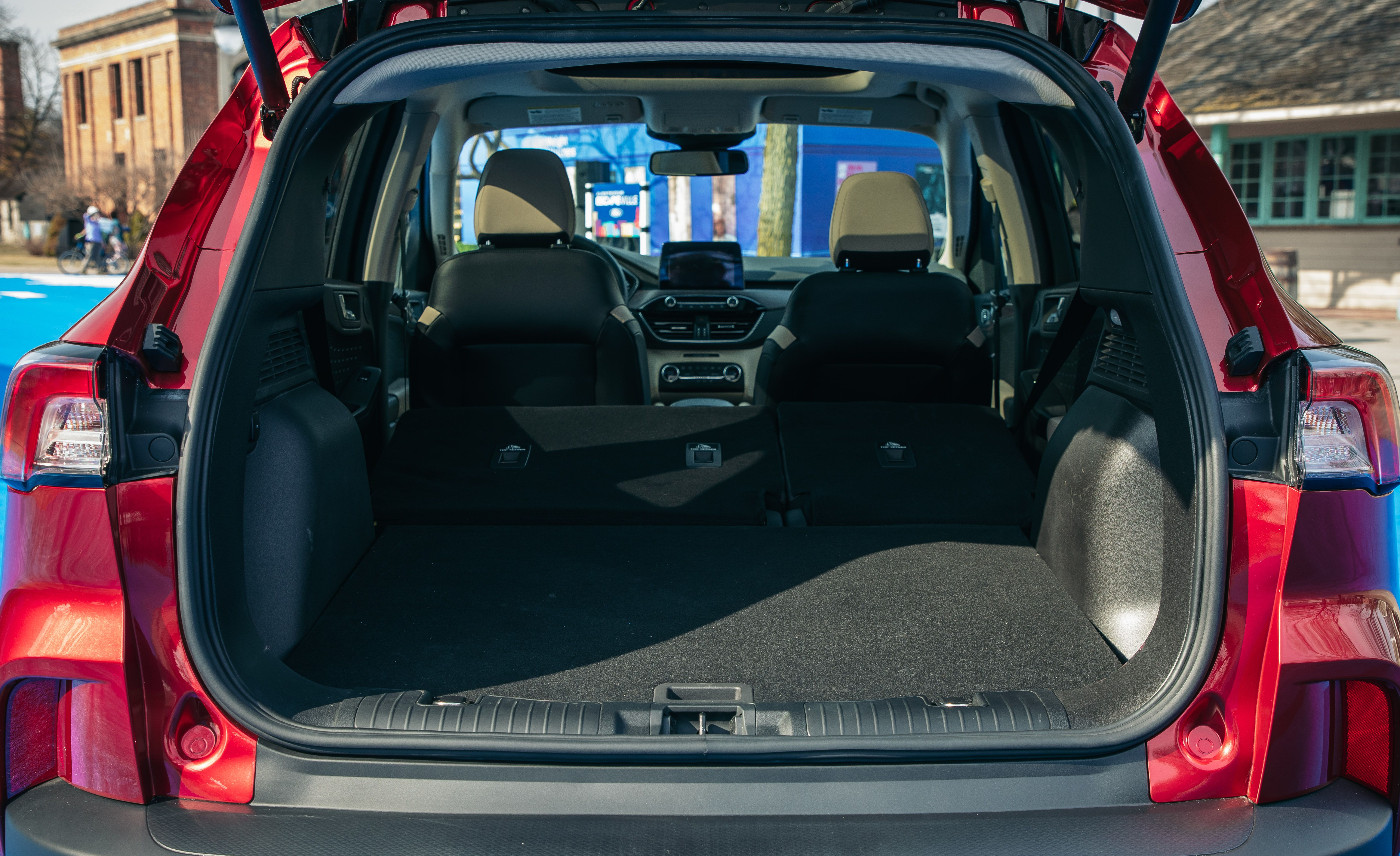 Ford Escape Cargo Space >> See The 2020 Ford Escape From Every Angle Photos Of The