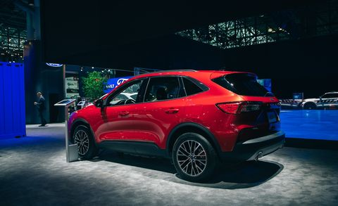2020 Ford Escape New Compact Crossover Specs Release Date