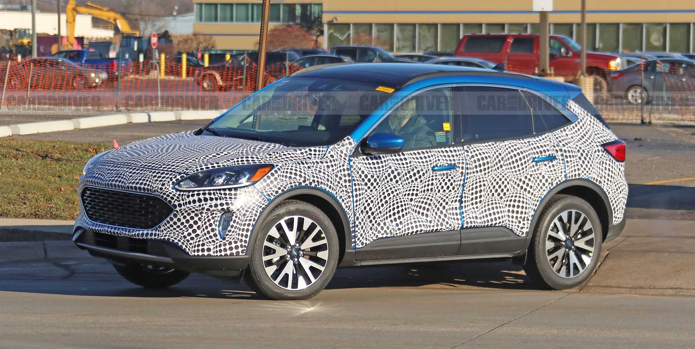 2020 Ford Escape Spy Photos - New Compact Crossover