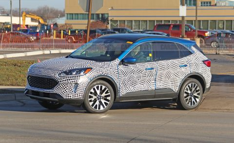 2020 Ford Escape Spy Photos New Compact Crossover