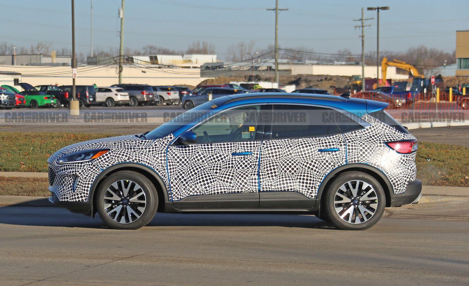 2020 Ford Escape Spy Shot