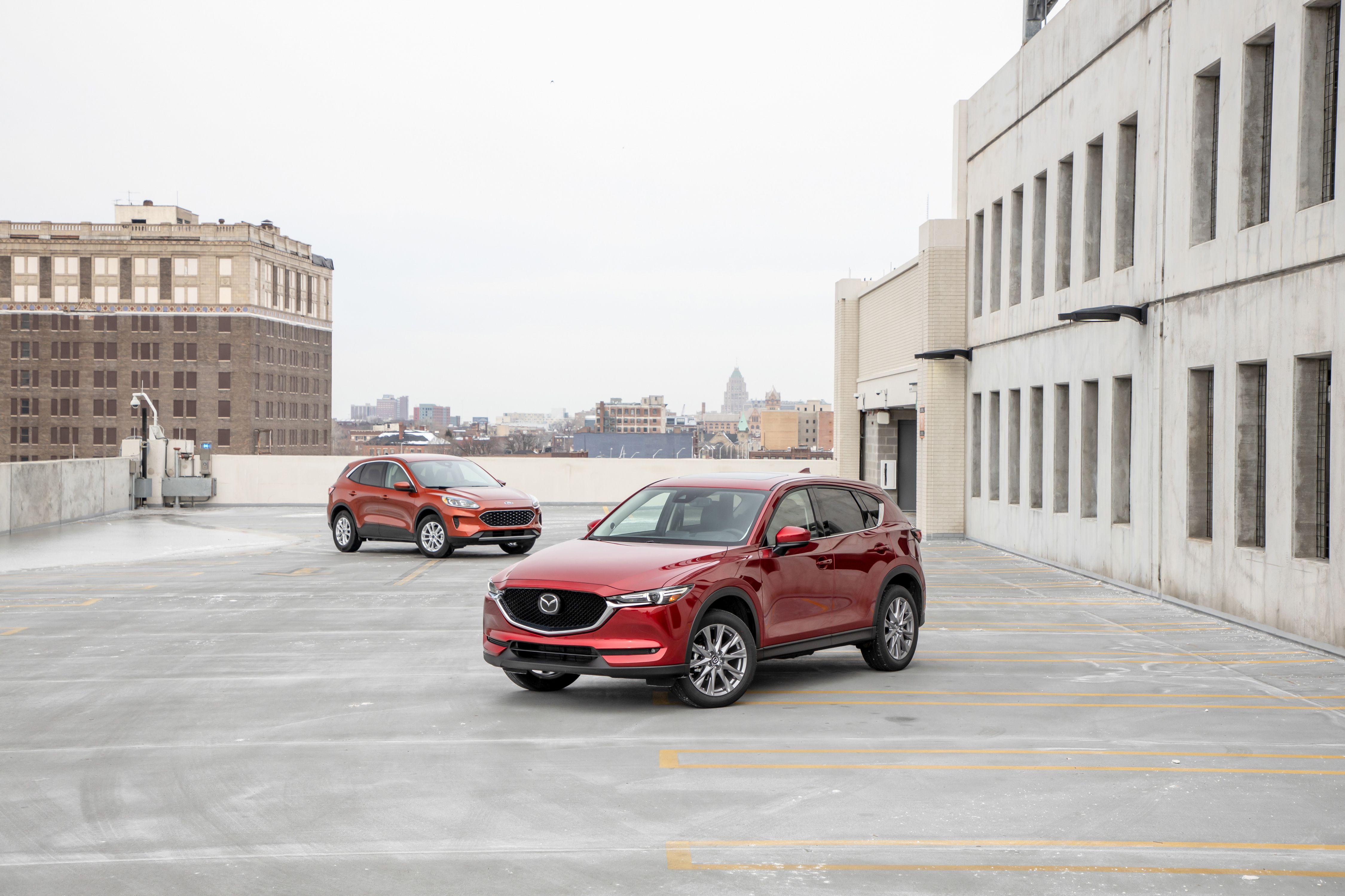 2020 Ford Escape vs. 2020 Mazda CX-5 – AWD Compact SUV Comparison