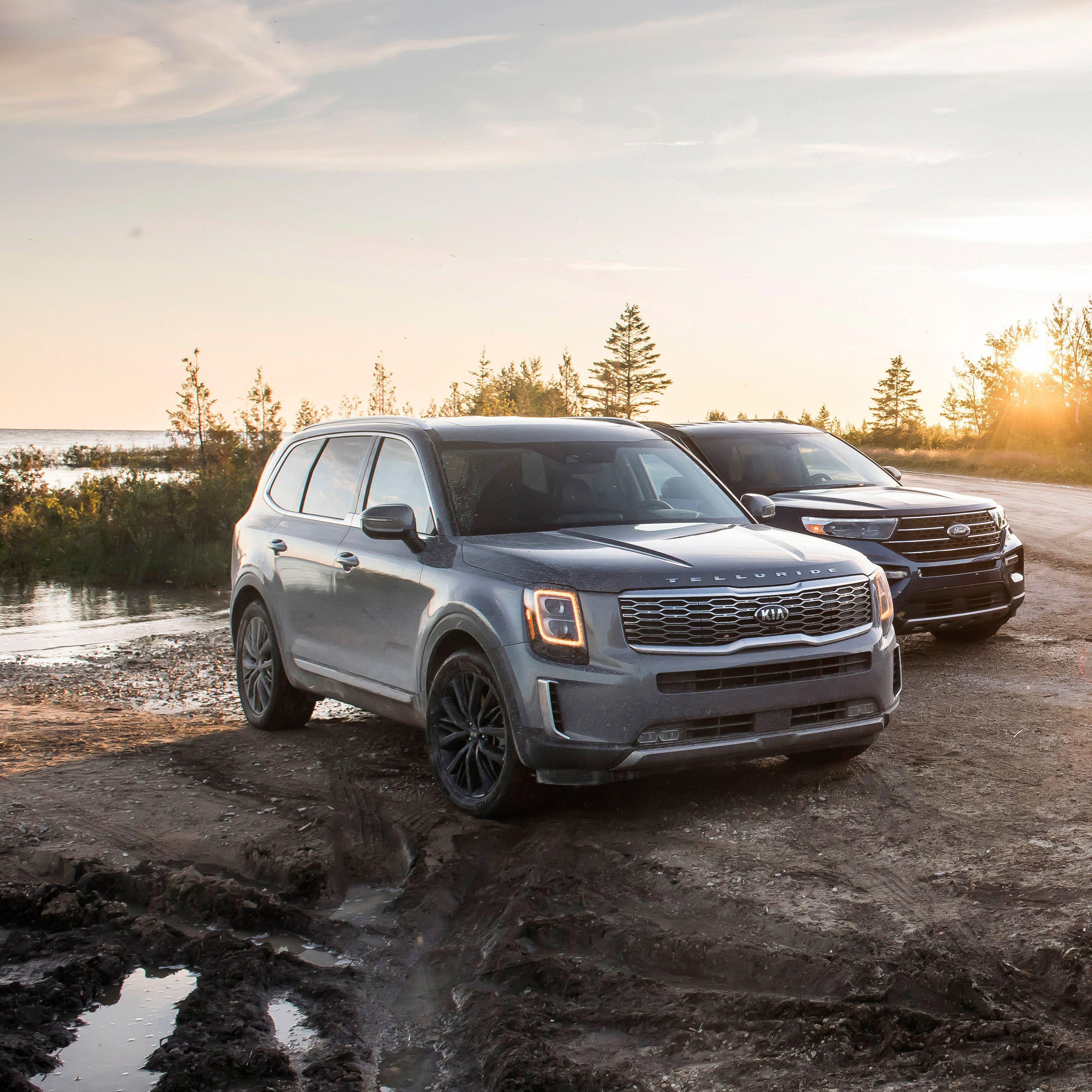 2020 Ford Explorer Vs 2020 Kia Telluride Can Korean