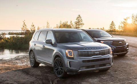 2020 ford explorer vs 2020 kia telluride
