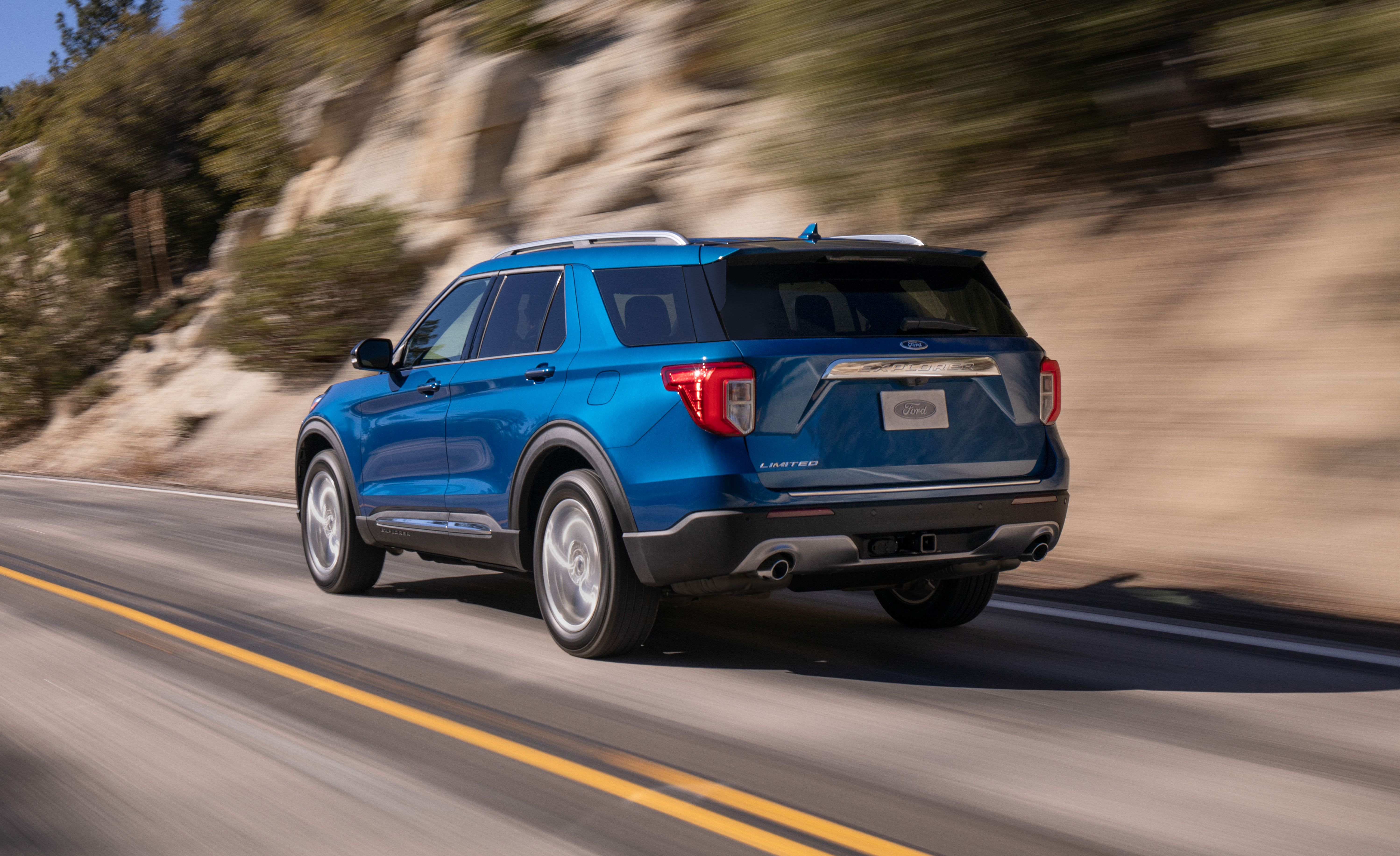 2020 Ford Explorer All New Fourth Generation