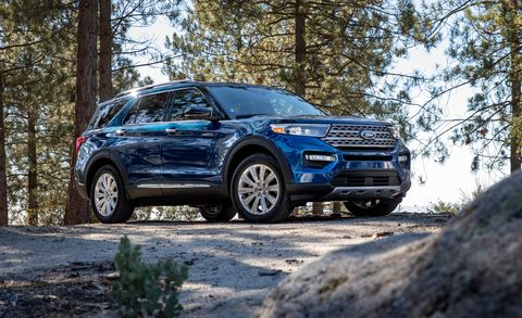 New Ford Explorer >> 2020 Ford Explorer All New Fourth Generation