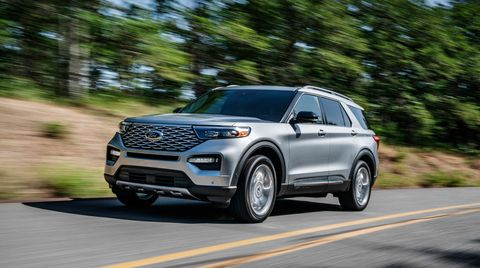 2020 Ford Explorer Much Improved Three Row Suv