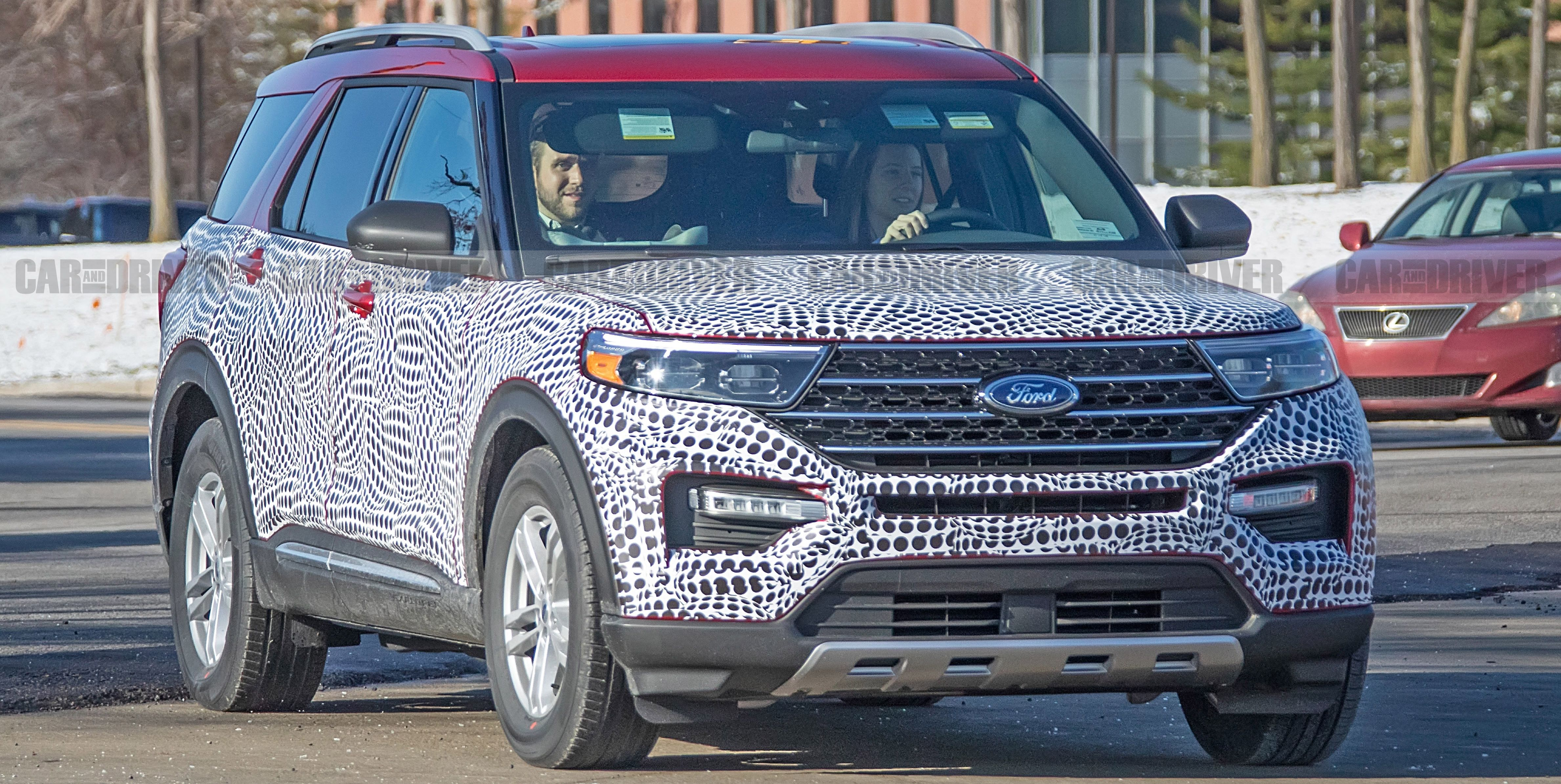 2020 Ford Explorer Preview Police Interceptor Utility Fully Revealed