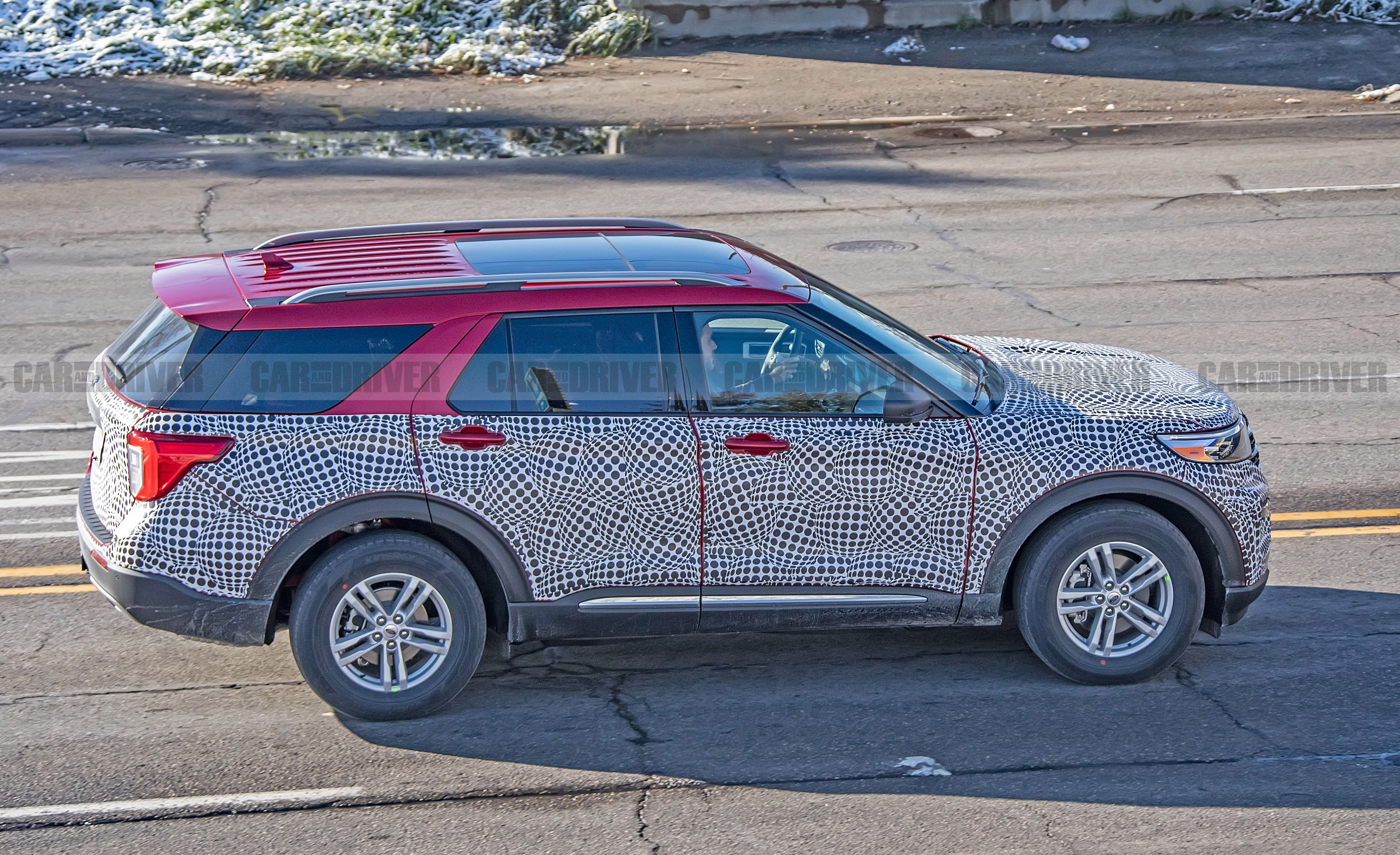 2020 Ford Explorer Suv Release Date And More Details
