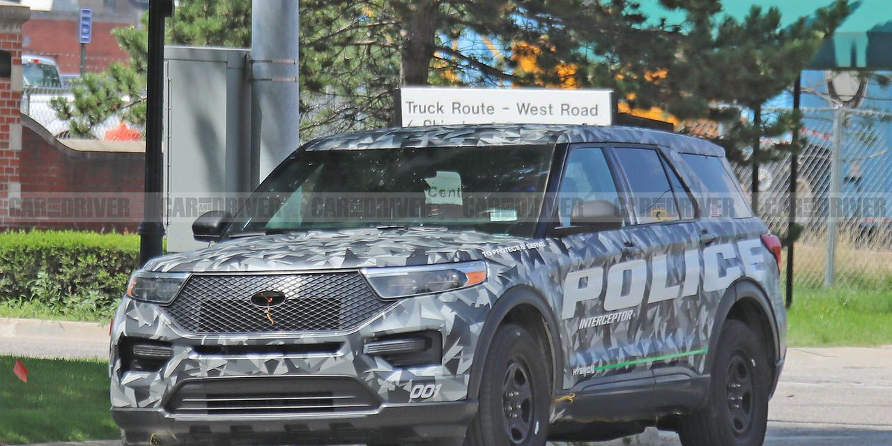 This Is the 2020 Ford Explorer (In Cop-Car Form, at Least)! | News | Car and Driver