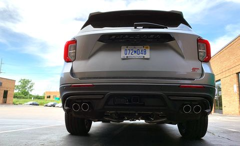 """What's Up with the 2020 Ford Explorer ST's Innovative """"Fake"""" Exhaust Tips?"""