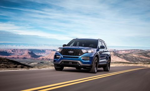 2020 Ford Explorer St Driving The 400 Hp Three Row Suv
