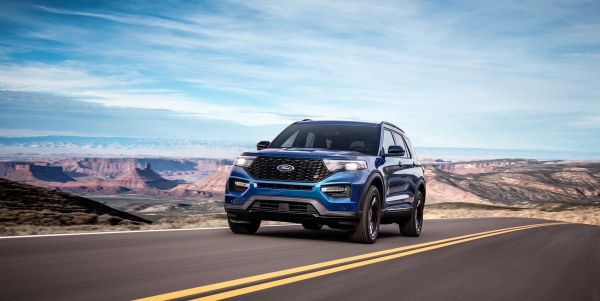 2020 Ford Explorer ST – Driving the 400-HP Three-Row SUV