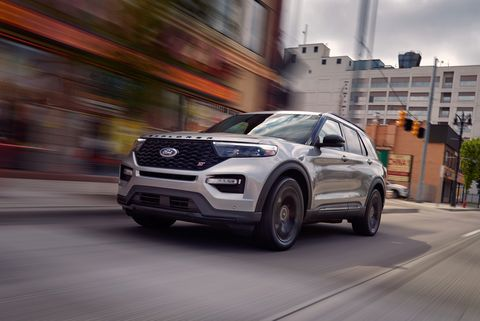 The 400 Hp Ford Explorer St Is Quick Compelling And Unexpected
