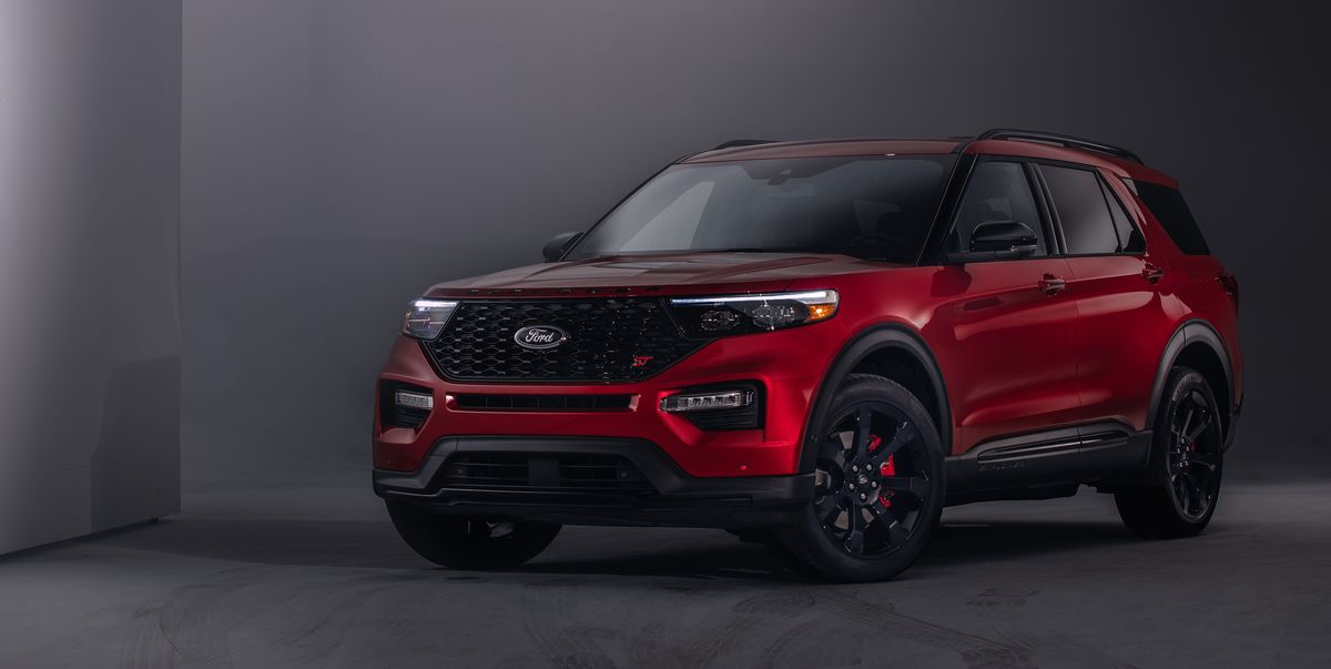 2020 Ford Explorer St Debuts With A 400 Hp Twin Turbo V 6