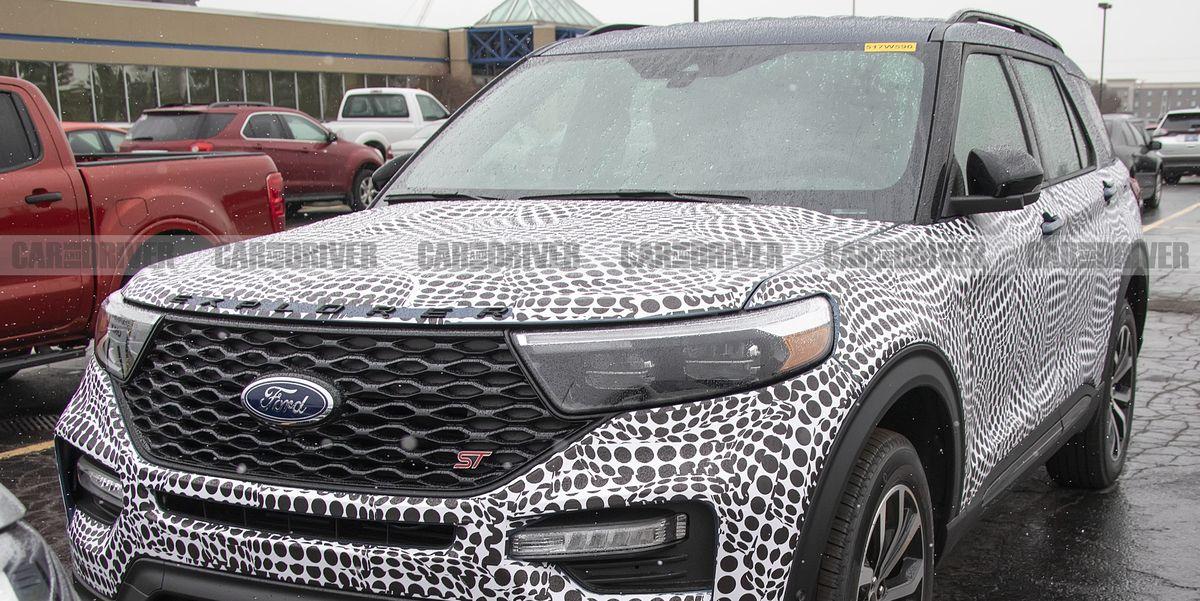 2020 Ford Explorer ST Spy Photos – New Sporty SUV