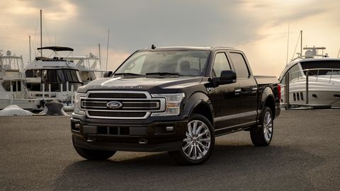 2020 ford f 150 front