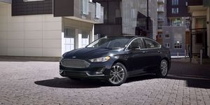 2020 Ford Fusion front