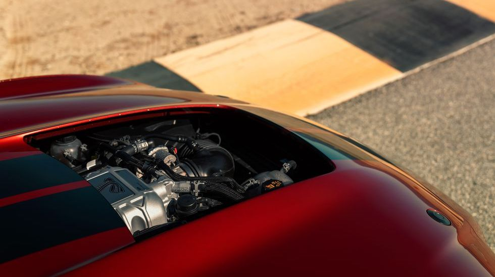 Ford Mustang Shelby GT500 - Same Supercharger as Corvette ZR1