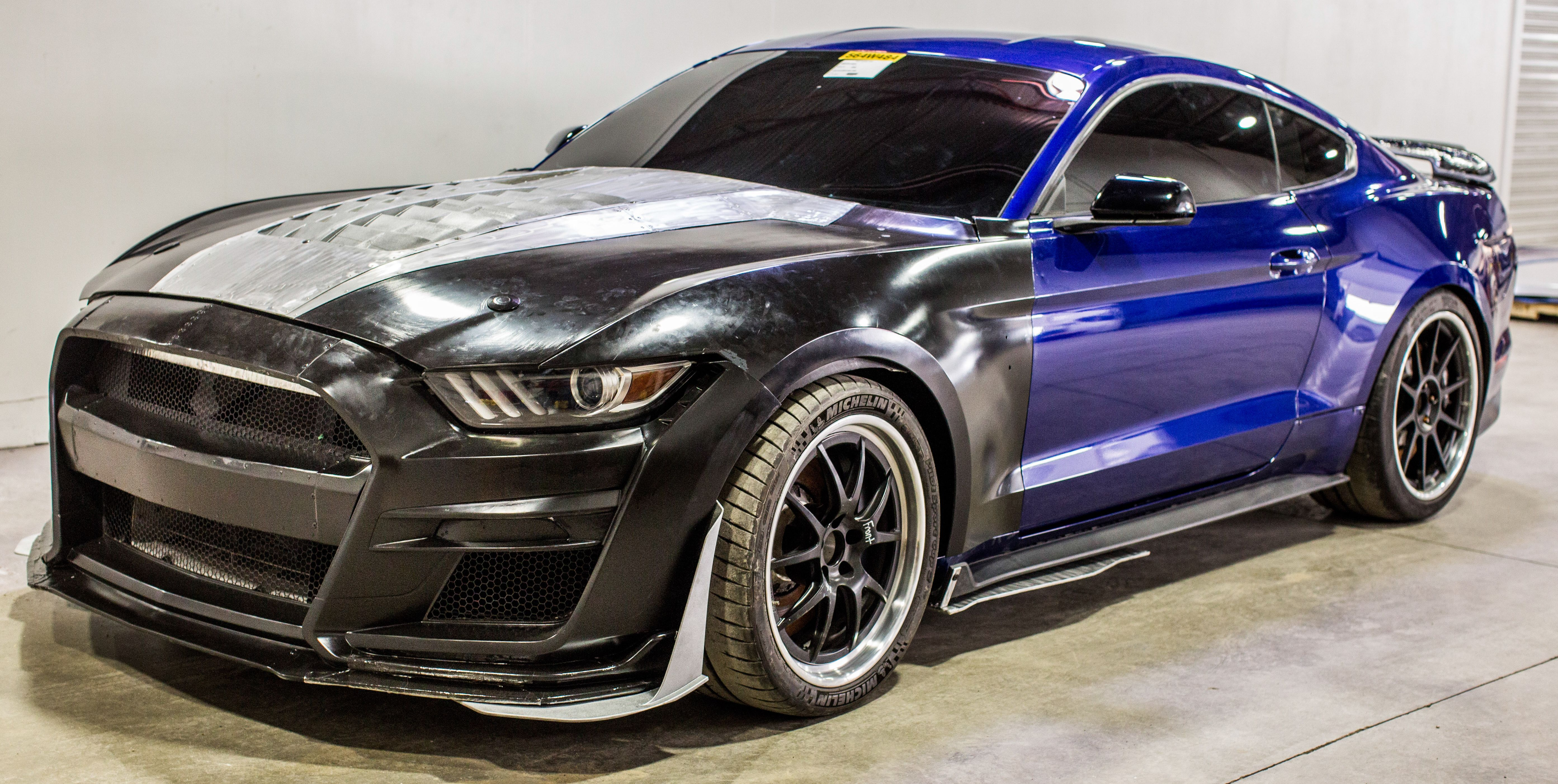 the 2020 ford mustang shelby gt500 aerodynamics in photos