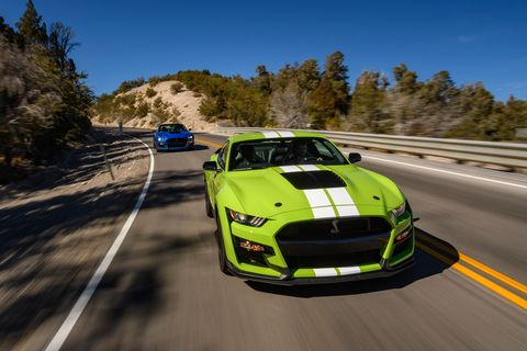 Land vehicle, Vehicle, Performance car, Car, Automotive design, Shelby mustang, Sports car racing, Racing video game, Sports car, Road,