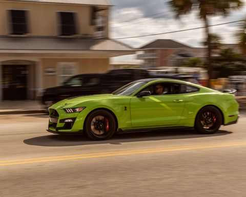 2020 ford mustang shelby gt500 and fireworks