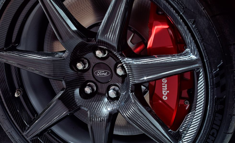 Why the 2020 Ford Mustang Shelby GT500's Carbon Wheels Are ...