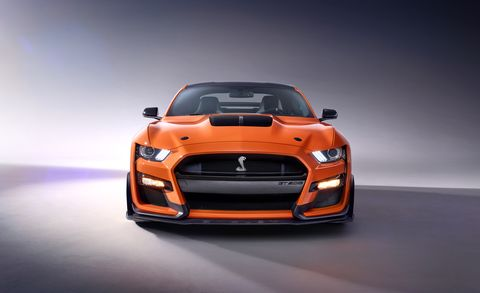 2020 Ford Mustang Shelby Gt500 Revealed Supercharged V 8