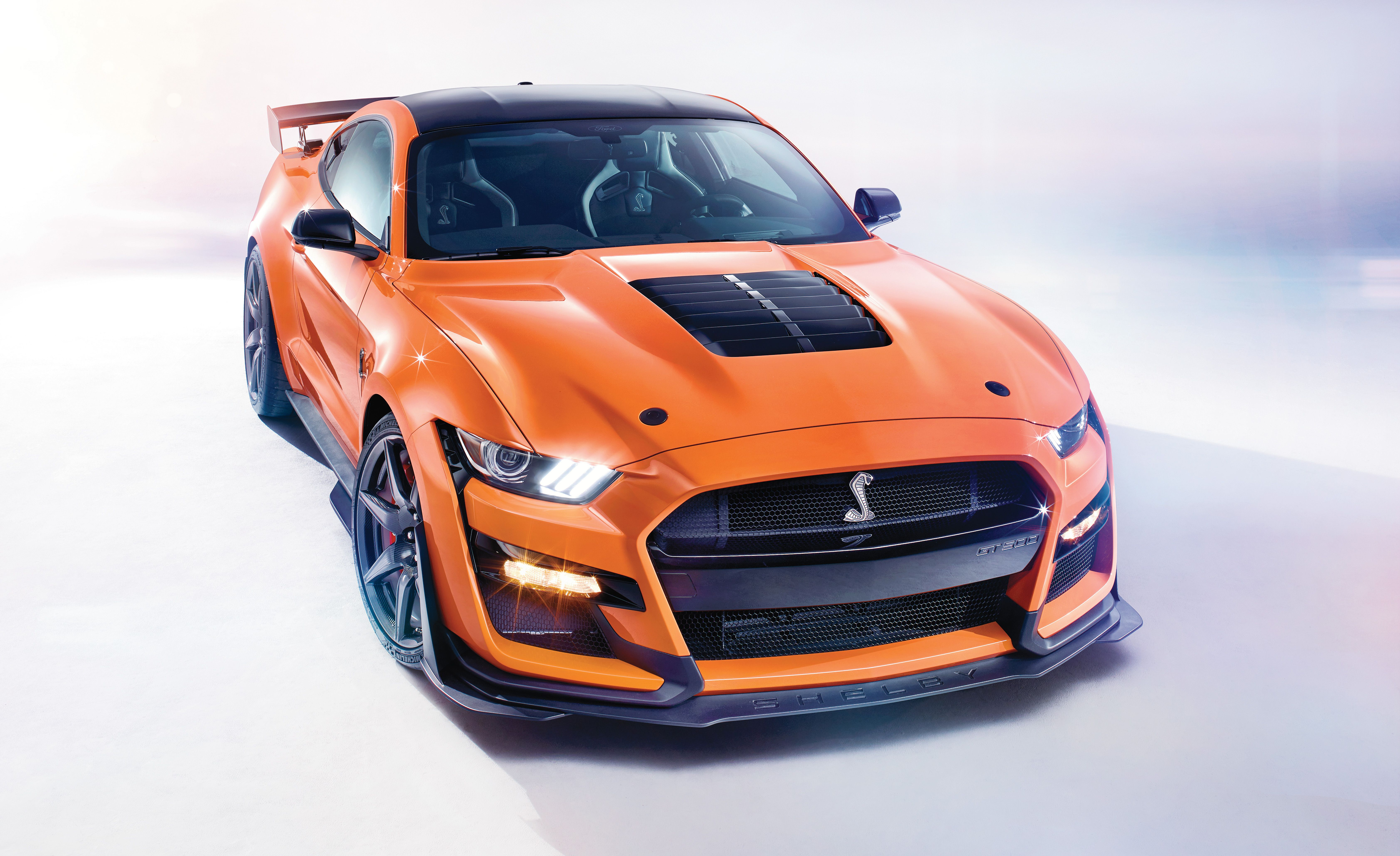 2020 Ford Mustang Shelby Gt500 Horsepower Supercharged V 8