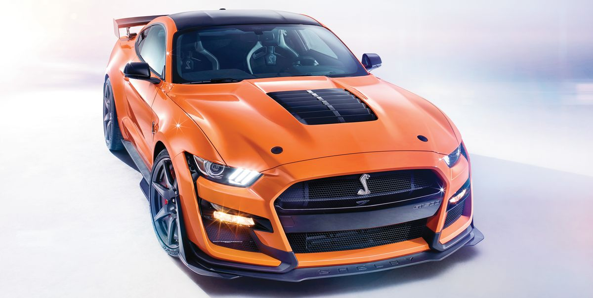 2020 ford mustang shelby gt500 horsepower – supercharged v8