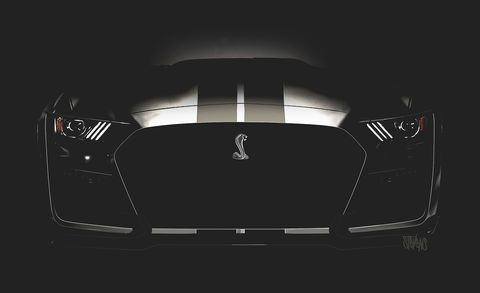 2020 Ford Mustang Shelby Gt500 Supercharged 700 Hp Muscle Car